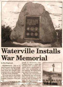 Waterville War Memorial