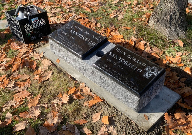 Double Cremation Marker