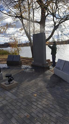 memorial cleaning