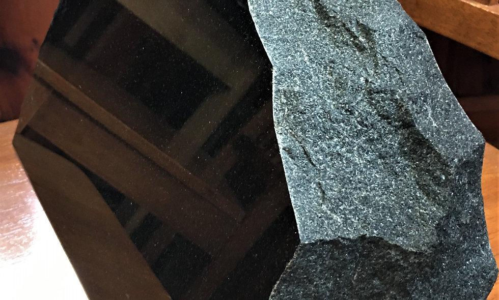 Black Granite Mountain Marker
