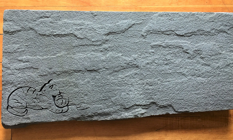 Blue Stone Cat