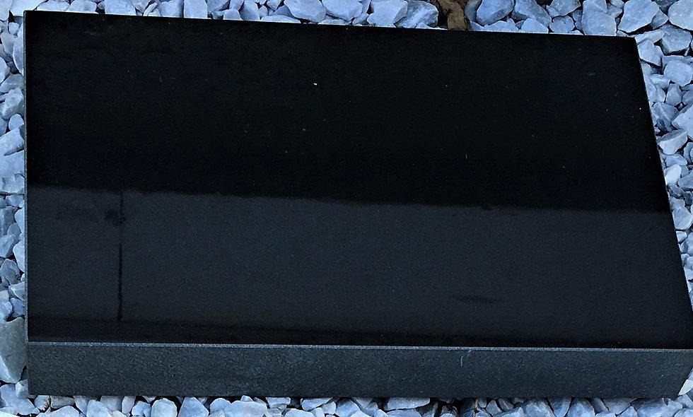 Black Granite Marker, Polished