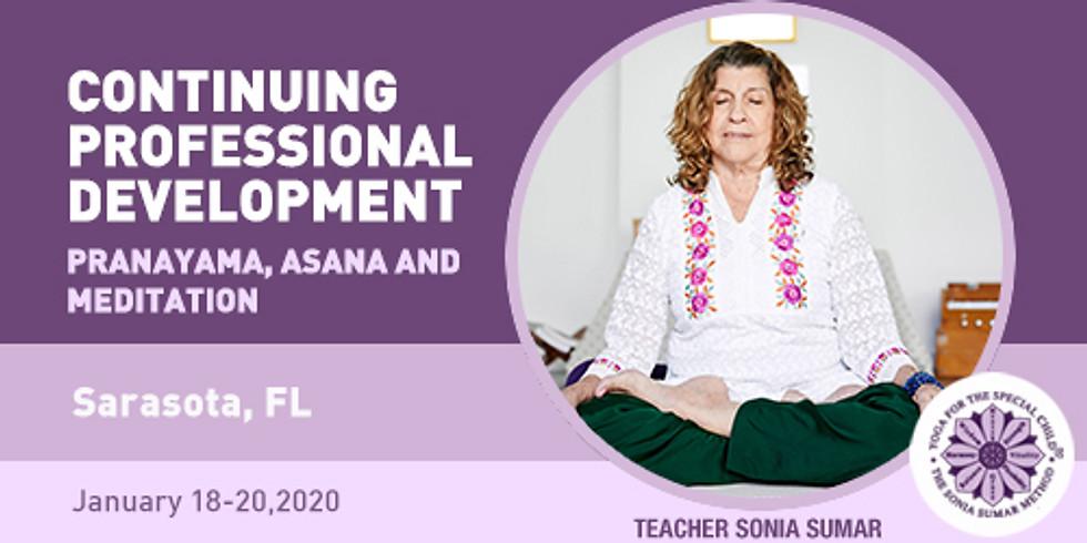Continuing Professional Development on Pranayama Asanas and Meditation