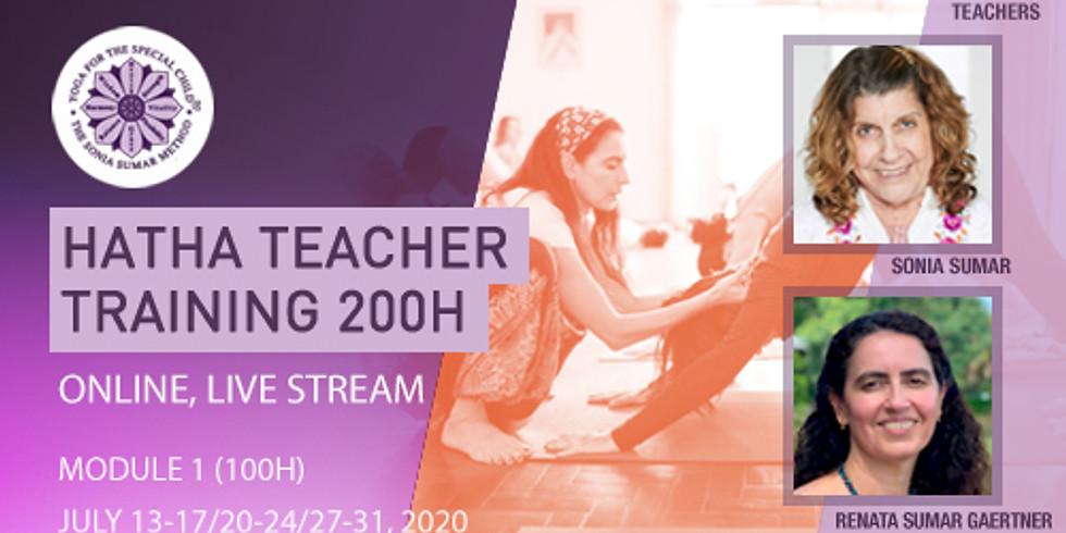 200H Hatha Yoga Teacher Training - Sonia Sumar Method - Module 1 (100H) - Online