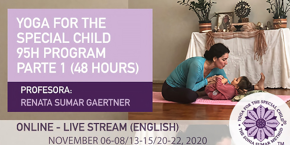 Yoga for the Special Child 95H Program Part 1 ONLINE