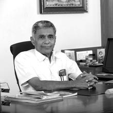Mr. Ramasamy - guest speaker - Integral Yoga India