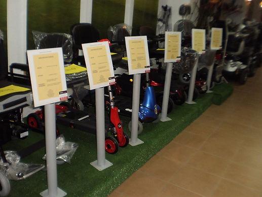 Venta sillas de ruedas y scooters