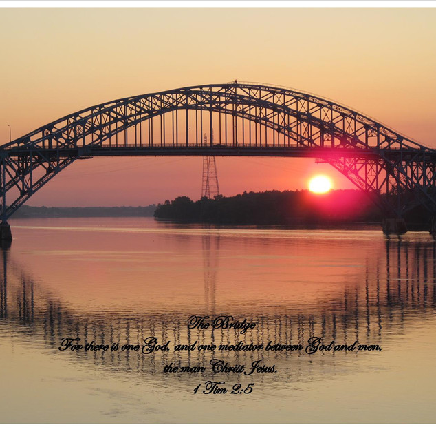 South Bridge Sunrise 1 Timothy 2:5