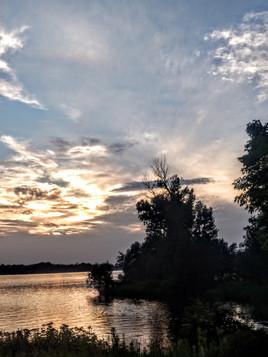 Beaver Island Spring Sunset
