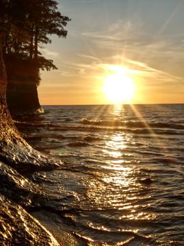 Sunset on the Beach Angola New York
