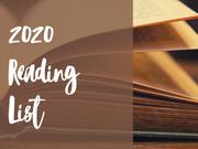 2020 Reading List