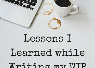 GUEST POST: Lessons Learned from Writing my WIP by Saleena Ali