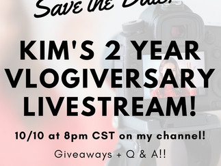 2-Year Vlogiversary Giveaway!