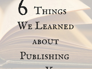 The Six Things We Learned This Year about Publishing: Collab with Mari Suggs