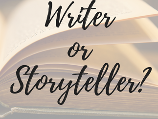 GUEST POST: Writer vs Storyteller by Samantha M. Clark
