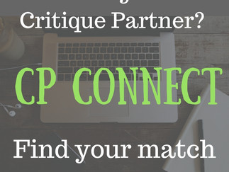 Welcome to CP Connect! Find your new critique partners HERE!