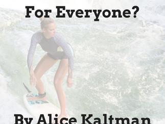 GUEST POST: Surfing, for Everyone? By Alice Kaltman