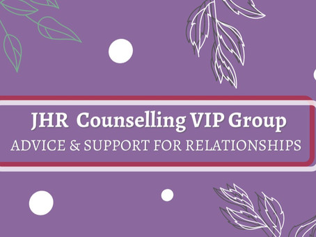JHR Counselling VIP Group