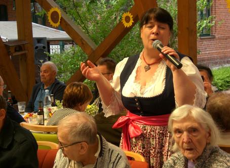 Sommerfest im Altenpflegeheim Haus Akzeptus