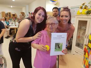 Sommerfest im Altenpflegeheim im  Pflegezentrum