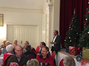 Weihnachtsfeier im Verein für Gesundheit, Sport und soziale Kontakte Schkeuditz e.V.