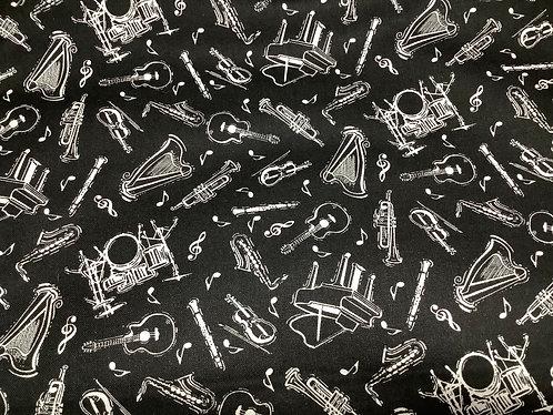 Musical Instruments (Black)