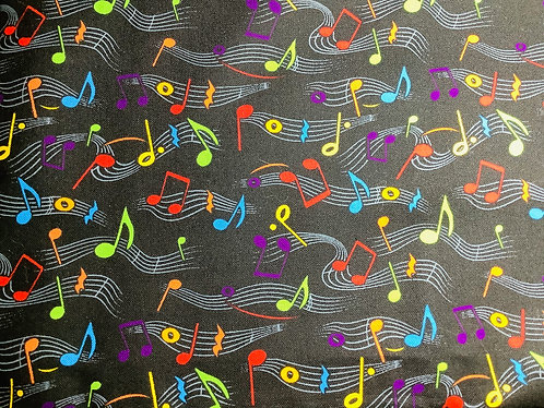 Multicolor Musical Notes
