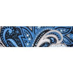 Blue Paisley (UV & Water Resistant)