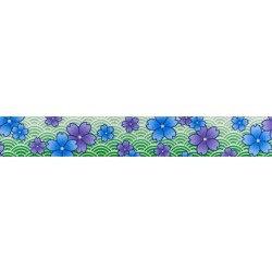 Blue and Purple Wildflowers (UV & Water Resistant)