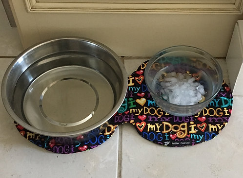 Round Pet Placemat