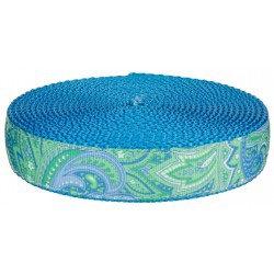 Aqua Paisley (UV & Water Resistant)