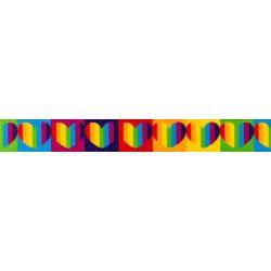 Rainbow Hearts (UV & Water Resistant)