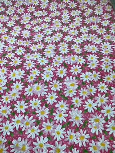 Daisies (Pink Background)