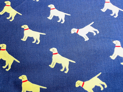 Dogs (Blue Background)