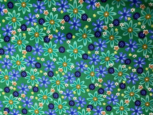Wildflowers (Blue & Green)