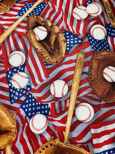 Baseballs & Flags