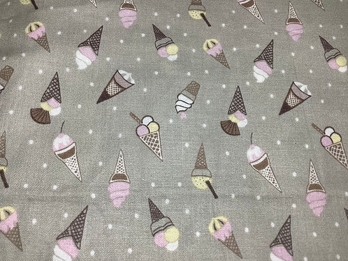 Gray Ice Cream Cones