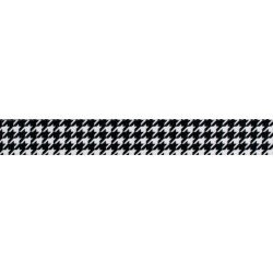 Black & White Houndstooth (UV & Water Resistant)