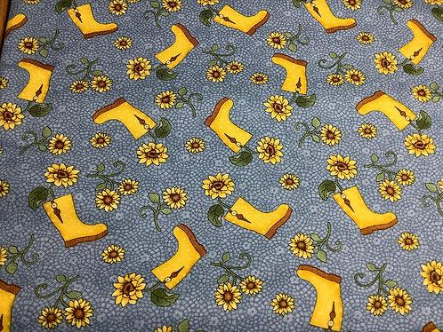 Sunflowers & Rainboots