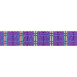 Purple Plaid (UV & Water Resistant)