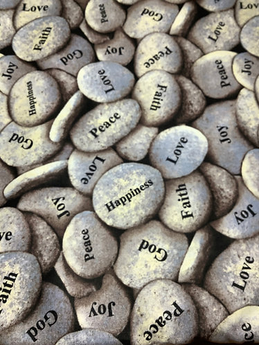 Peace Love Happiness Rocks
