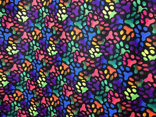 Rainbow Pawprints (Large)