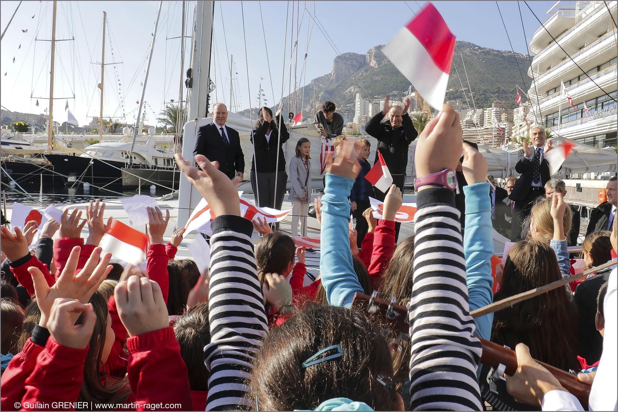 Depart du Ponton-Monaco