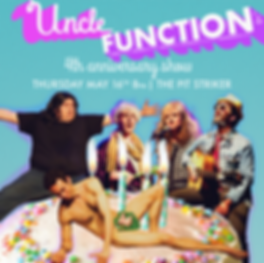 uncle function - 2019 - may 16th - squar