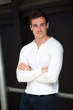 Chris Cafero white shirt