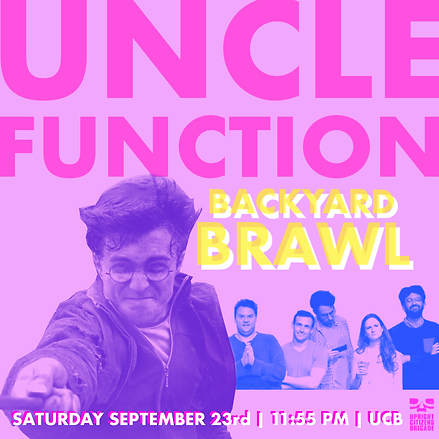 uncle function ucb backyard brawl