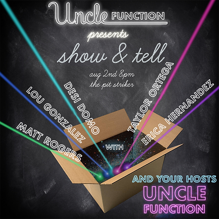uncle function - 2018 - august - square.