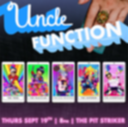 uncle function - 2019 - september - squa