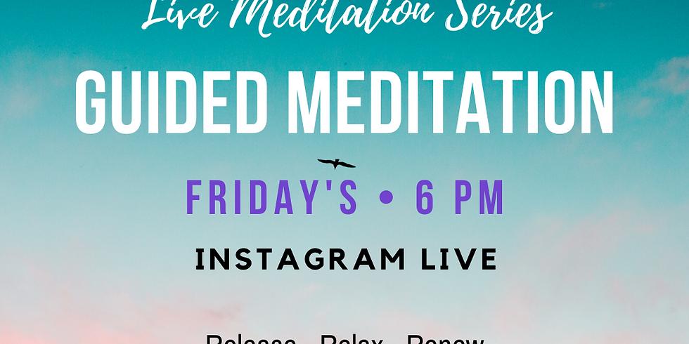 Guided Meditation Fridays at 6pm