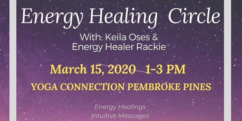 Energy Healing Circle 3/15